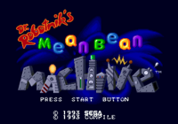 Dr-Robotniks-Mean-Bean-Machine-Title-Screen