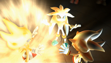 Sonic 2006 Super Sonic, Shadow, Silver