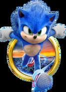 Sonic Film Sonic Artwork 16
