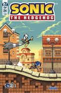Sonic IDW 24CoverB