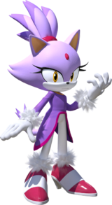 Blaze the Cat/History and appearances