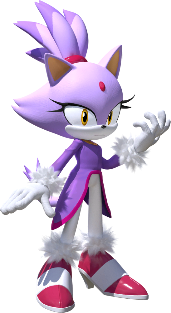 Blaze the Cat - Awesome Sonic Series Minecraft Skin