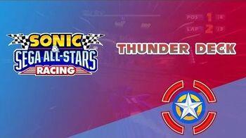 Thunder Deck - Sonic & Sega All-Stars Racing