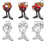 Battle Eggman moods