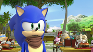 Embarrassed Sonic (Morpho)
