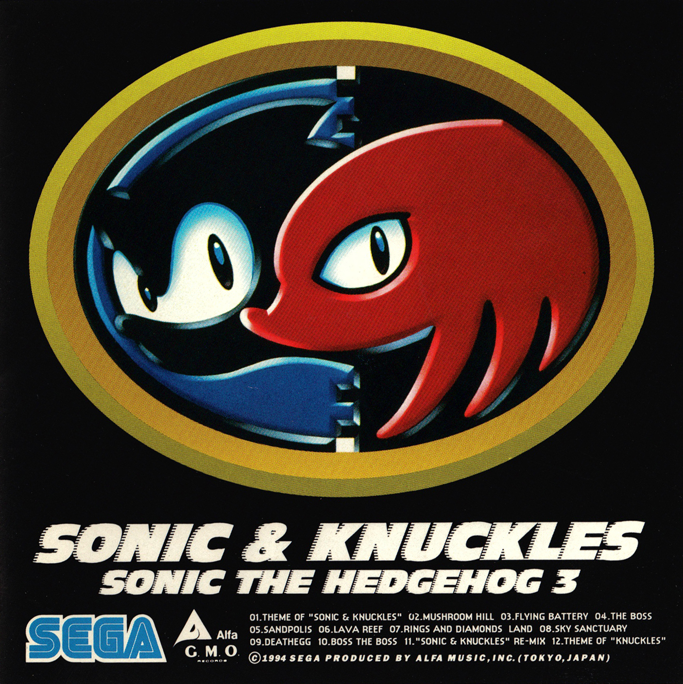 Sonic & Knuckles • Sonic the Hedgehog 3 | Sonic News Network