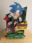 Sonic 3D Blast stand