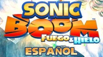 Sonic Boom Fuego & Hielo - Escenas en Español