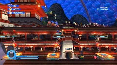 Sonic Colors - Aquarium Park Act 2 HD