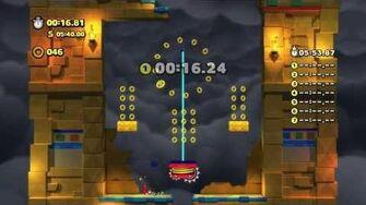 Sonic Lost World - Wii U - Sky Road Zone 4 and Zavok Boss Battle