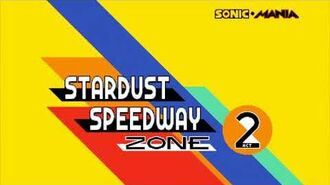 Sonic Mania Sonic Solo Part 6 - Stardust Speedway Zone