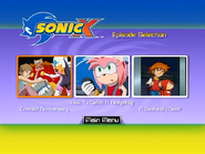 Sonic X Volume 8 AUS episode select