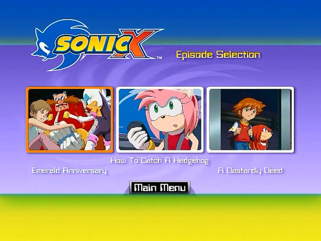File:Sonic X Volume 8 AUS episode select.png