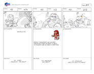 Unlucky Knuckles storyboard 11