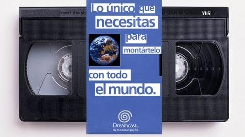 "VHS ""Lo Único Que Necesitas Para Montártelo Con Todo El Mundo"" (Dreamcast Up To 6 Billion Players) ►"