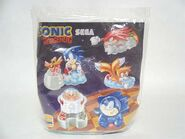 Burger King Sonic 1998 flyer