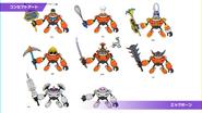 Concept artwork - Sonic Colors - Nintendo DS - 031 - Egg Pawn (Variant)