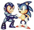 Sonic & Mega Man: Worlds Collide/Gallery