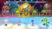 Mario Sonic Sochi Gameplay 1222
