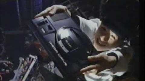 Sega Mega Drive Ad 1991