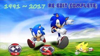 Sonic's Series Invincibility Power Sneakers Super Sonic Jingles 1991~2017 (RE-Edit Complete)