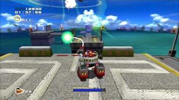 Sonic Adventure 2 (PS3) Weapons Bed Mission 5 A Rank