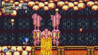 Sonic Mania Boss 20 - Driller Droid