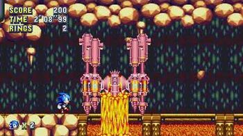 Sonic Mania Boss 20 - Driller Droid