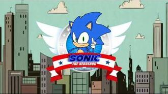 """""""Sonic the Hedgehog The Fastest Thing Alive"""" - Video Game Title Screen promo"""