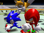 Egg Emperor Sonic victory
