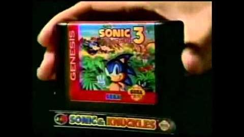 Sonic & Knuckles Commercial