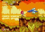 Sonic 3 Caterkiller Jr.