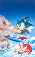 Sonic Triple Trouble artwork