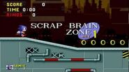 Sonic the Hedgehog Scrap Brain Zone Act 1