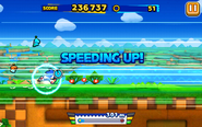 Windy Hill (Sonic Runners) - Screenshot 1