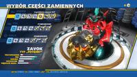 Modyfikacje Legendarna Paszcza Zeti