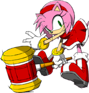 Sonic Channel Amy 2012