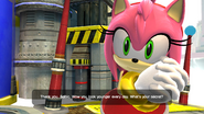 Sonic Generations Amy Reaction Classic