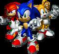 Sonic Heroes Artwork - Team Sonic.png