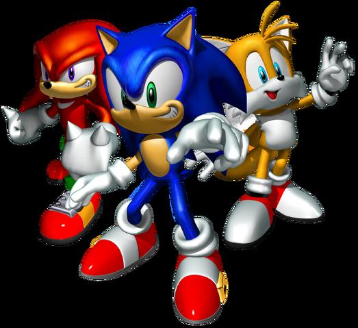 File:Sonic Heroes Artwork - Team Sonic.png