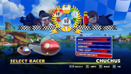Sonic and Sega All Stars Racing character select 11
