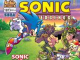 Archie Sonic the Hedgehog Issue 187