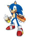 Joypolis Sonic chili dog