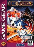 Sonic Spinball Game Gear Cover