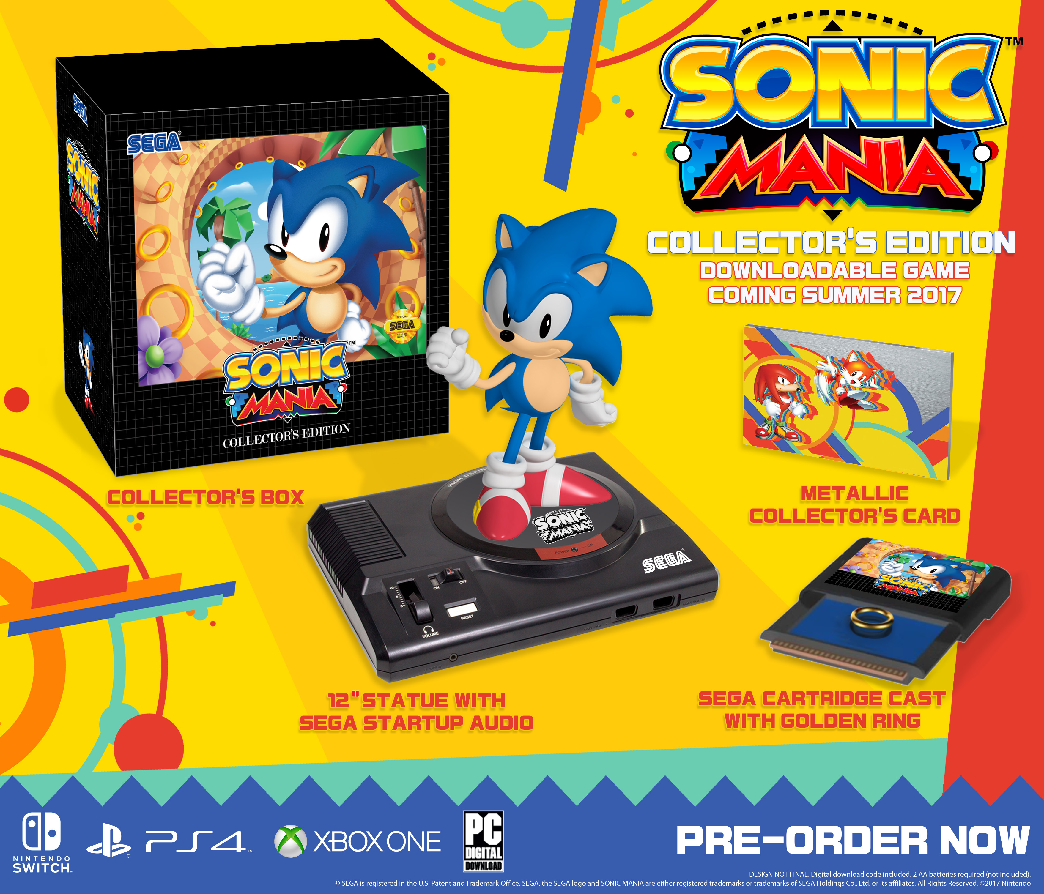 Sonic Mania News Network Fandom Powered By Wikia Switch Runner 3 Launch Edition Bonus English Us Games Collectors