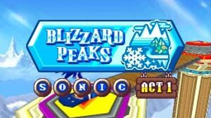ᴴᴰ DesMuMe - Sonic Rush Adventure Blizzard Peak, Sonic - Act 1 【1080 60FPS】