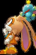 Cream Sonic Jump Story