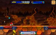 Lava Mountain (Sonic Runners) - Screenshot 1