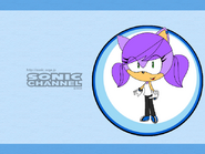 Sam in Sonic Channel