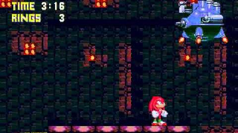 Sonic 3 & Knuckles Master Edition 2 Knuckles Fire Breath